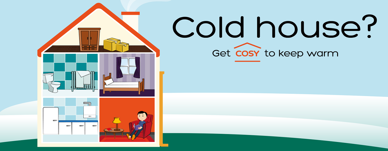 Get COSY to save money and keep warm this winter