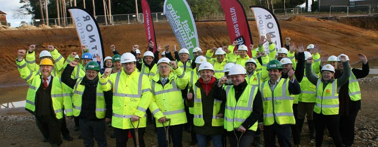 Work begins on new Whitehill & Bordon Leisure Centre