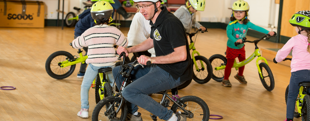 Balanceability chosen to get schools cycling as part of Whitehill & Bordon's Healthy New Town pledge