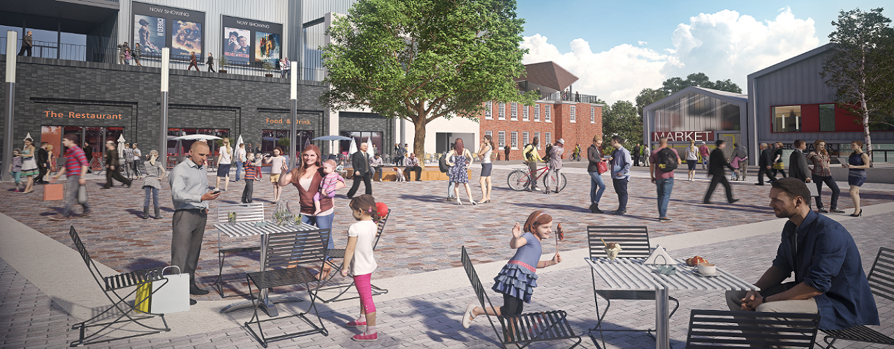 Whitehill & Bordon new town centre plans move forward