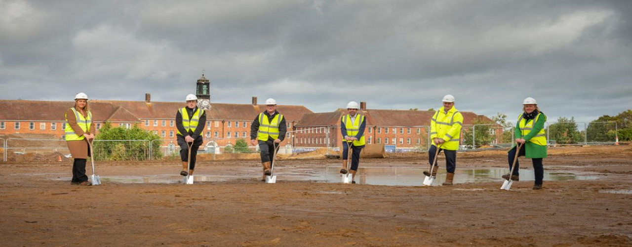 WBRC and Partners break ground at new Makers Market in Whitehill & Bordon