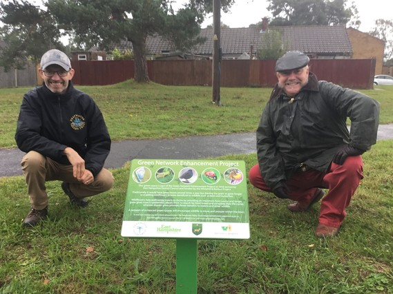 Re-wilding Whitehill & Bordon's green spaces
